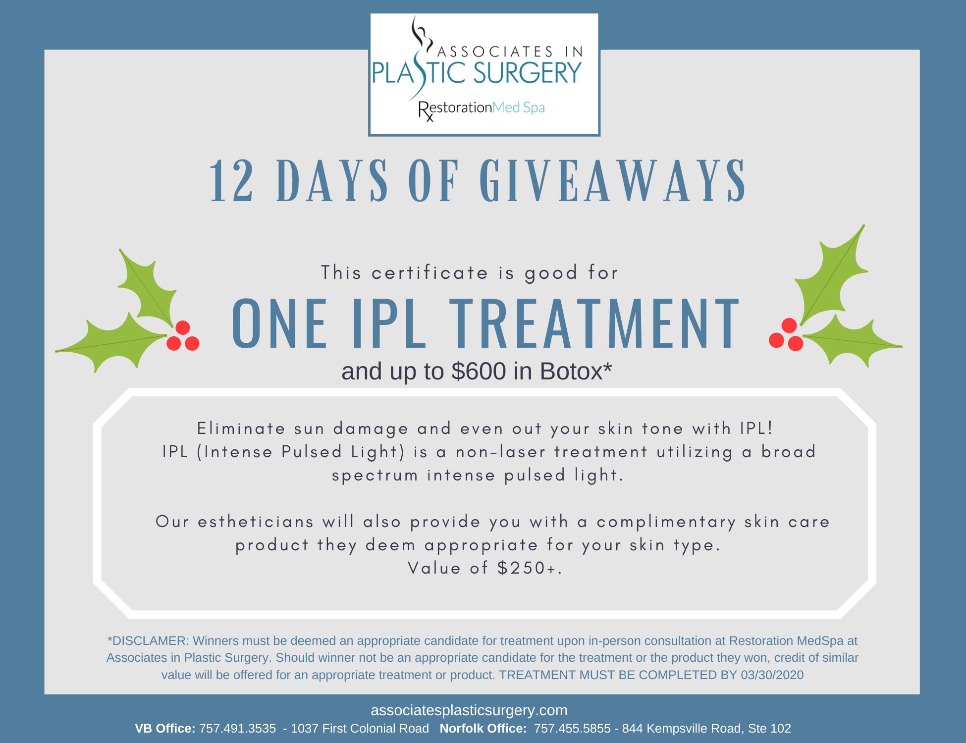 Day-2-Virginia-Beach-MedSpa-Holiday-Special-One-IPL-Treatment