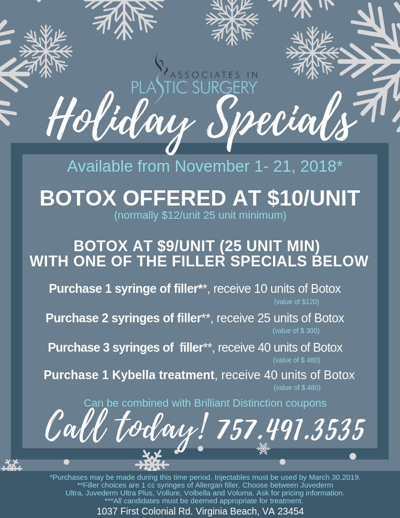 Holiday-Botox-Kybella-Specials-Virginia-Beach-Norfolk-Plastic-Surgery-Med-Spa