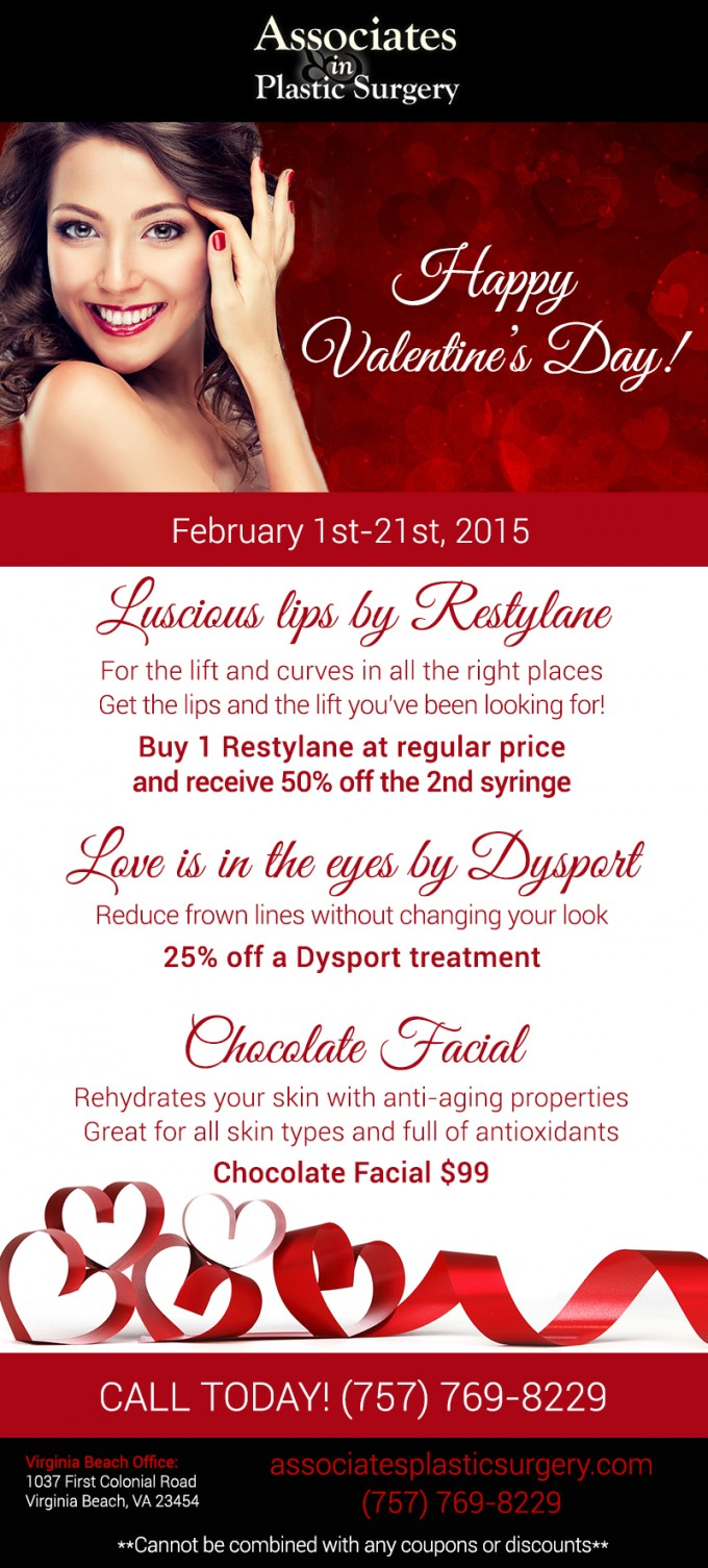 Our Valentine S Day Specials For February 1st 21st