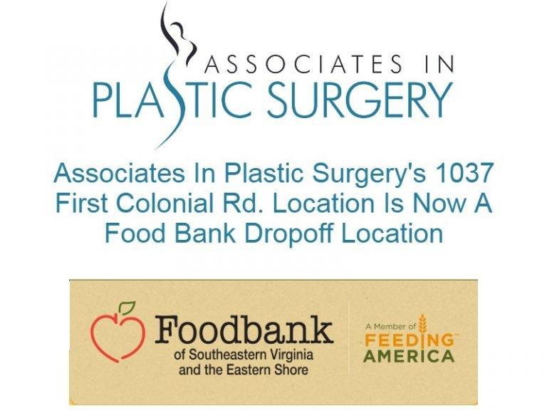 virginia-beach-plastic-surgeon-va-food-bank-drop-off-location-covid-19-4.25.20