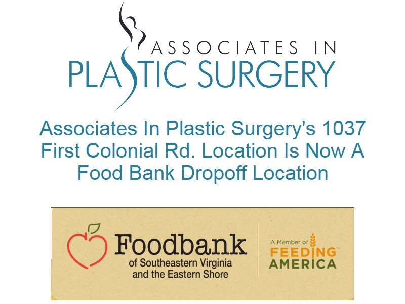 virginia-beach-plastic-surgeon-va-food-bank-drop-off-location-covid-19-4.25.20